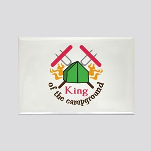 KING OF THE CAMPGROUND Magnets