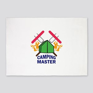 CAMPING MASTER 5'x7'Area Rug
