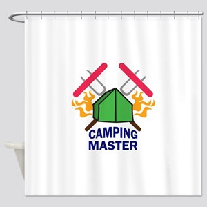 CAMPING MASTER Shower Curtain
