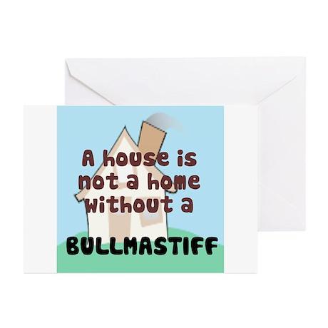 Bullmastiff Home Greeting Cards (Pk of 10)