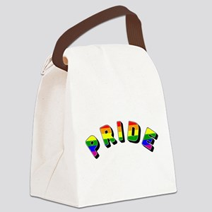 Gay Pride Canvas Lunch Bag