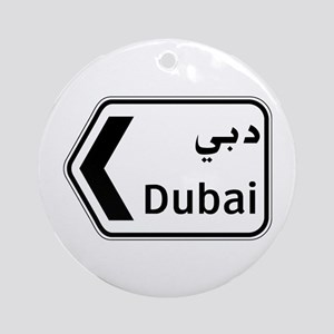 Dubai, UAE Ornament (Round)