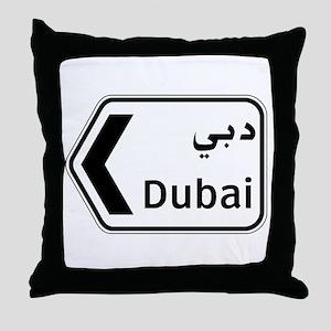 Dubai, UAE Throw Pillow