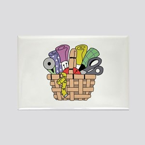 SEWING QUILTING BASKET Magnets