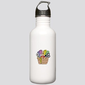 SEWING QUILTING BASKET Water Bottle