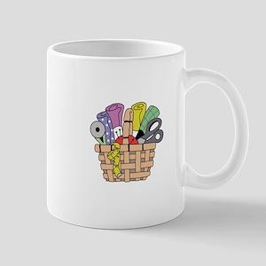 SEWING QUILTING BASKET Mugs