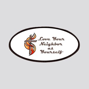 Love Your Neighbor As Yourself Patches