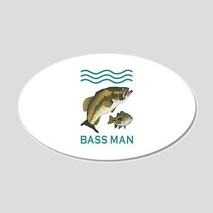 BASS MAN Wall Decal