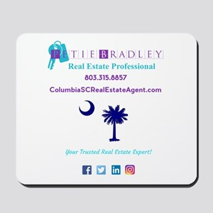 Petie Bradley Real Estate Logo Dark Mousepad