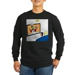 The Zombie Channel Long Sleeve Dark T-Shirt