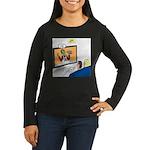 The Zombie Channe Women's Long Sleeve Dark T-Shirt