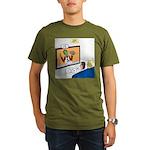 The Zombie Channel Organic Men's T-Shirt (dark)
