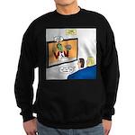 The Zombie Channel Sweatshirt (dark)