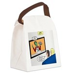 The Zombie Channel Canvas Lunch Bag