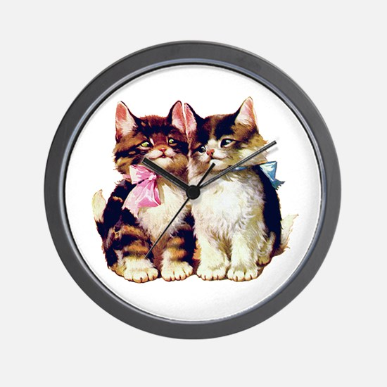 CATS MEOW Wall Clock
