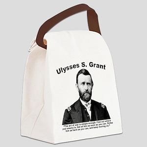 Grant: ArtWar Canvas Lunch Bag