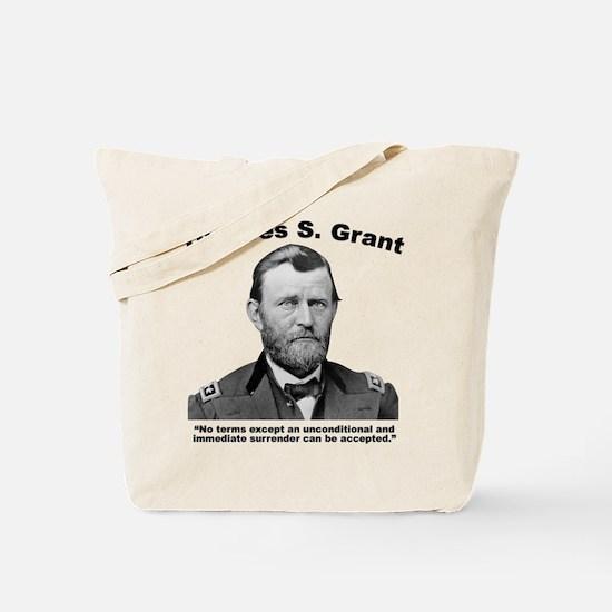 Grant: Unconditional Tote Bag