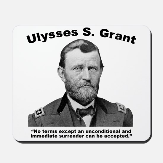 Grant: Unconditional Mousepad