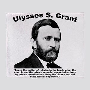 Grant: Separation Throw Blanket