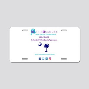 Petie Bradley Real Estate L Aluminum License Plate