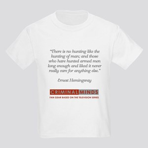 HEMINGWAY QUOTE Kids Light T-Shirt