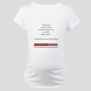 BROWNING QUOTE Maternity T-Shirt