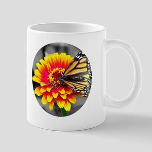Butterfly On Flower Mug