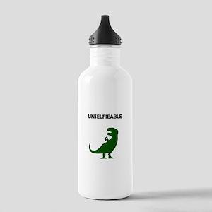 Unselfieable T-Rex Sports Water Bottle