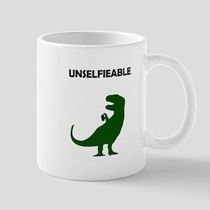 Unselfieable T-Rex Mugs