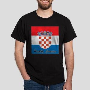 Proudly Croatian Dark T-Shirt