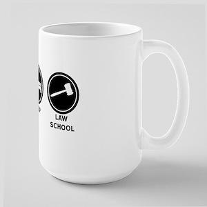 Eat Sleep Law School Large Mug