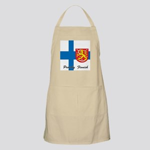 Proudly Finnish BBQ Apron