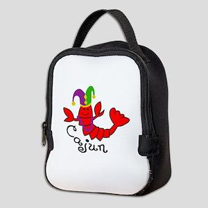 MARDI GRAS CAJUN CRAWFISH Neoprene Lunch Bag