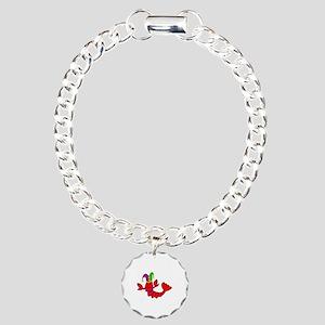 MARDI GRAS CRAWFISH Bracelet