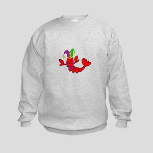 MARDI GRAS CRAWFISH Sweatshirt