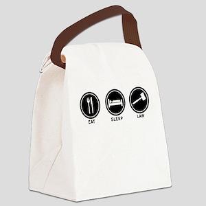 Eat Sleep Law Canvas Lunch Bag