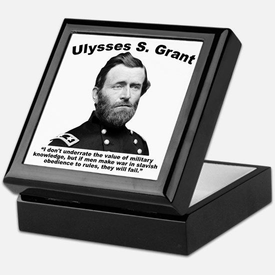 Grant: Rules Keepsake Box