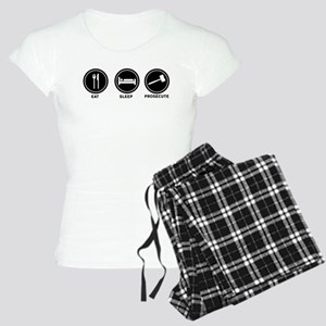Eat Sleep Prosecute Women's Light Pajamas