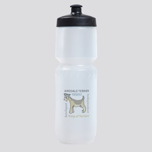 AIREDALE TRAITS Sports Bottle