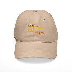 Laissez Faire-Gold Baseball Cap