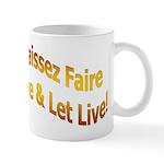 Laissez Faire-Gold Mug