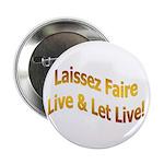 Laissez Faire-Gold Button