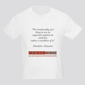 NIETZSCHE QUOTE Kids Light T-Shirt