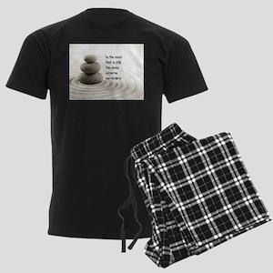 The Mind That Is Still Men's Dark Pajamas