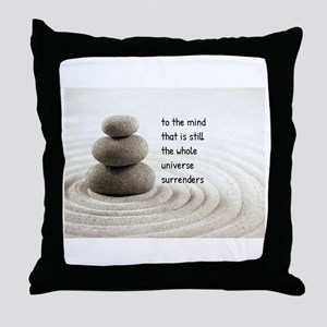 The Mind That Is Still Throw Pillow