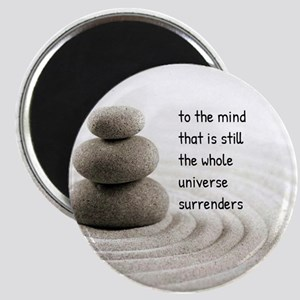 The Mind That Is Still Magnets
