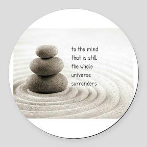 The Mind That Is Still Round Car Magnet