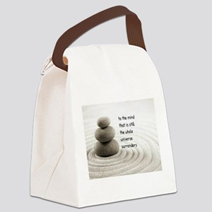 The Mind That Is Still Canvas Lunch Bag