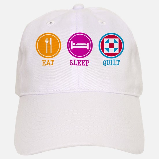 Eat Sleep Quilt Baseball Baseball Cap