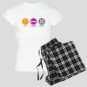 Eat Sleep Quilt Women's Light Pajamas
